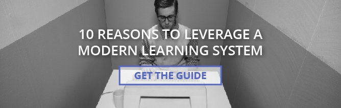10 reasons to leverage a modern learning system