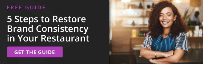5 steps to restore brand consistency in your restaurant